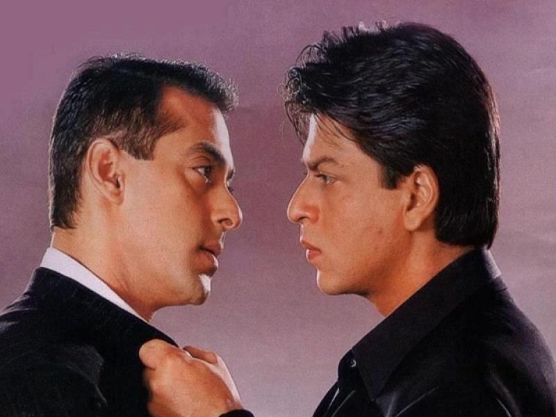 Salman and Shahrukh khan fight bollywood rivalries