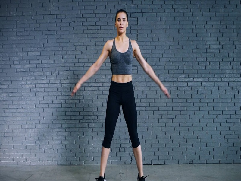 jumping jacks is one of the best jumping exercises