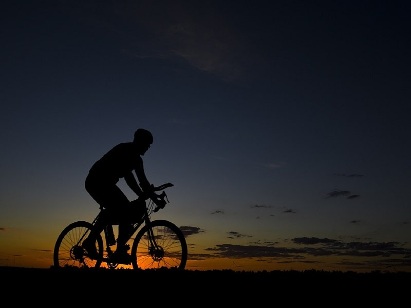 raise your intensity with cycling