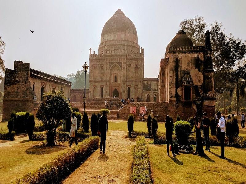 best photoshoot locations in Delhi NCR Lush lodhi garden