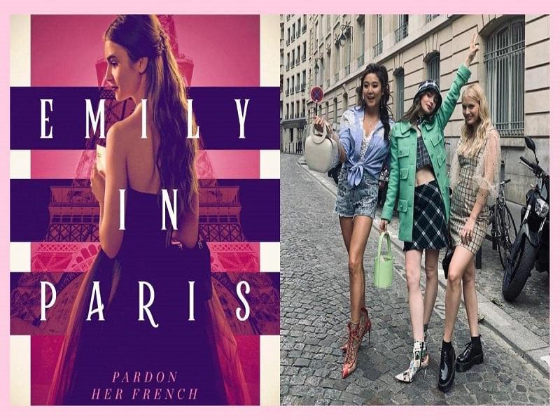 Emily in Paris series on Netflix