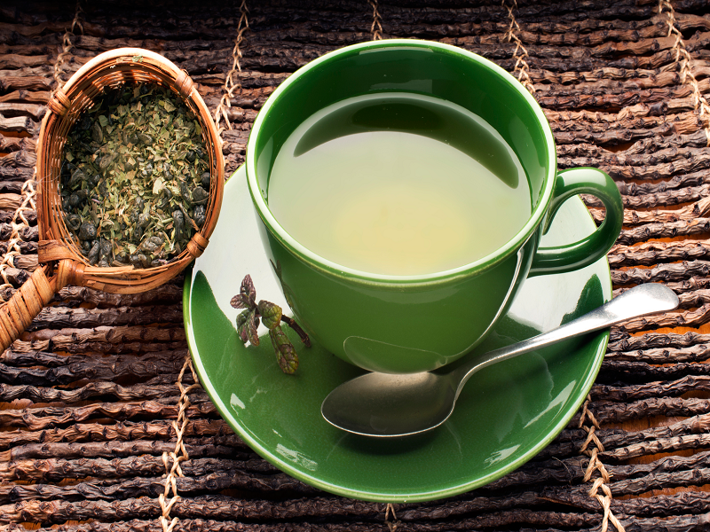 green tea for pimple treatment