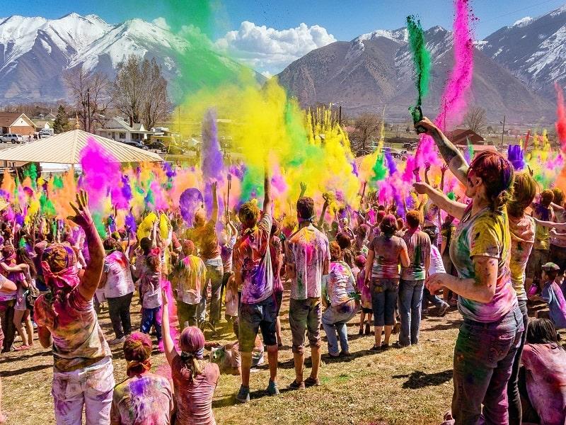 Holi celebration in Kumaoni Uttrakhand