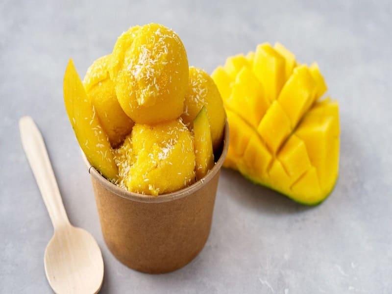 homemade Mango-ice-cream