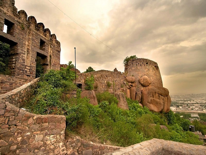 Golconda Fort Hyderabad-min