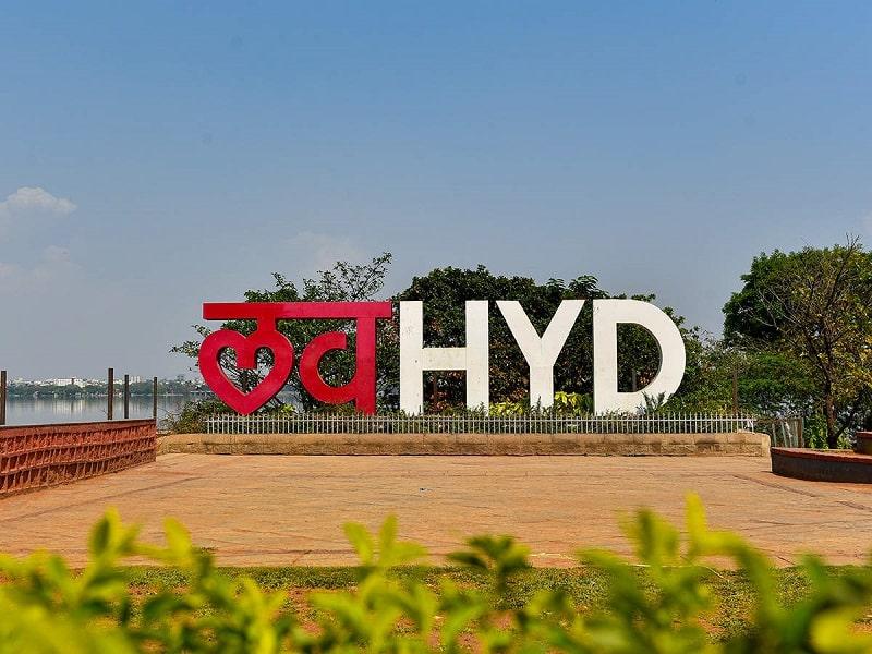 Tank Bund and I love Hyderabad