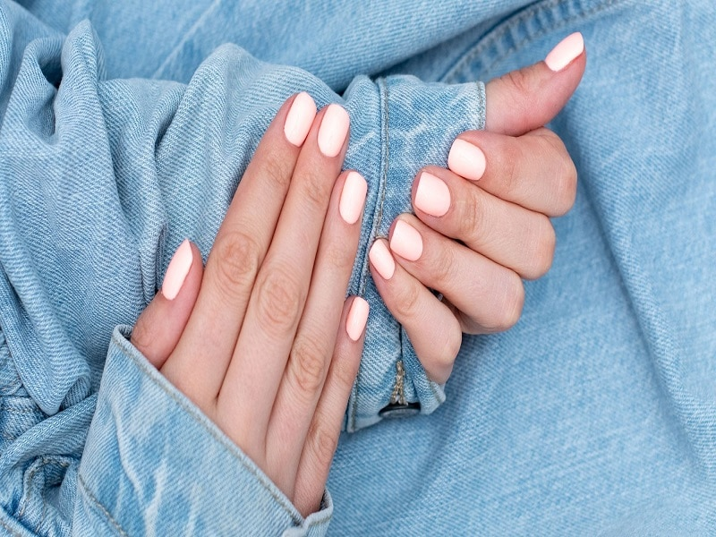 guides for manicure at home plate full of delight