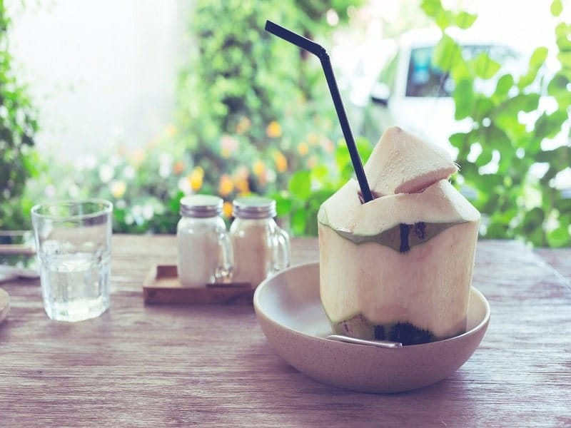 coconut-water for protein