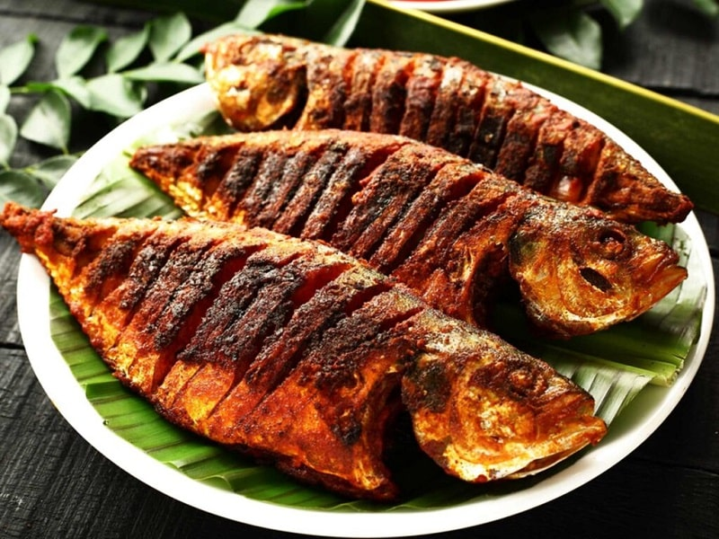 fish dish source of protein