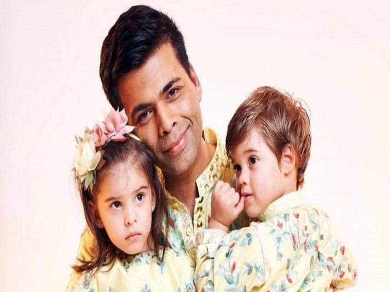 Karan Johar and kids