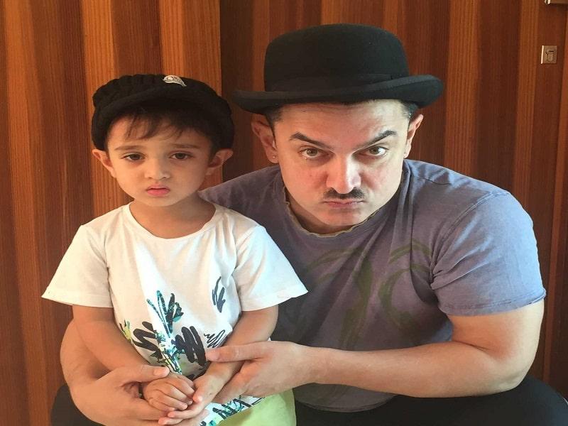 aamir khan with son